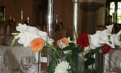 Gedeckter Tisch im Restaurant Wallner