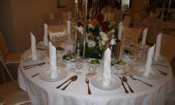 Tisch im Restaurant Wallner