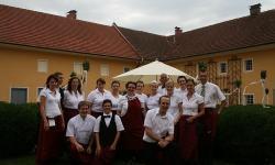 Das Team vom Hotel-Restaurant Wallner
