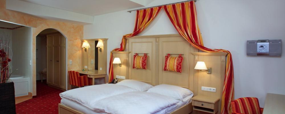 Hotelzimmer-Ausstattung im Hotel zum grünen Baum