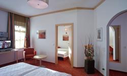 Blick ins Zimmer im Hotel Wallner