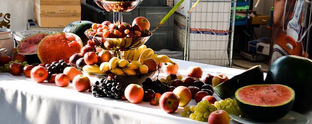 Früchte-Buffett beim Partyservice