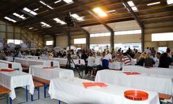 Catering und Partyservice in einer Halle