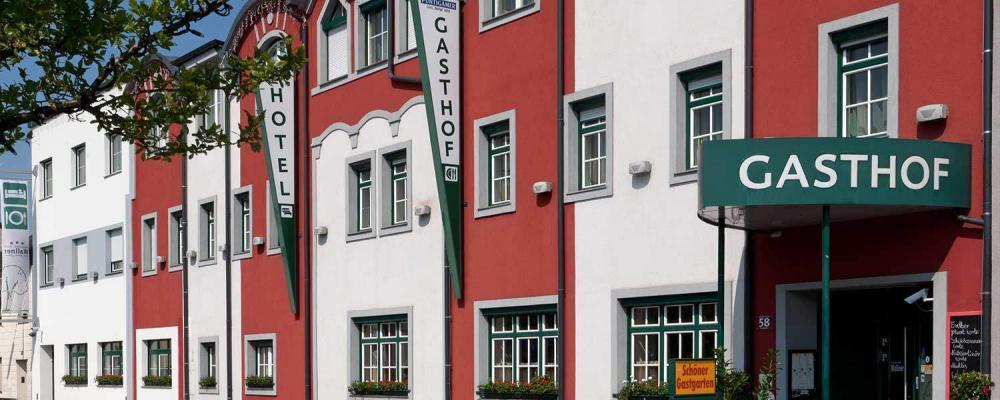 Außenansicht Hotel Restaurant Wallner