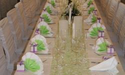 Hochzeitstafel Feierlich