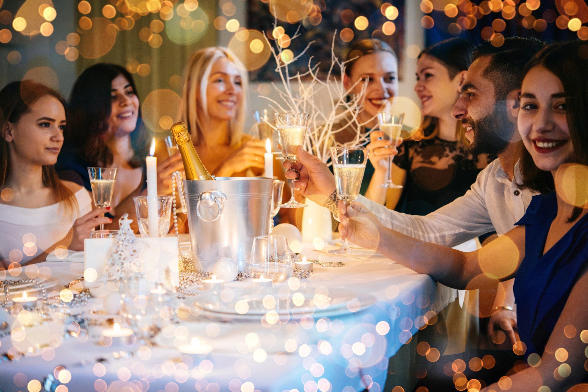 Weihnachtsfeier im Restaurant-Hotel Wallner
