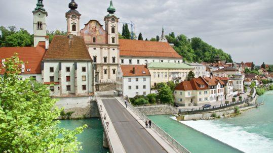 Ausflugsziel Romantikstadt Steyr